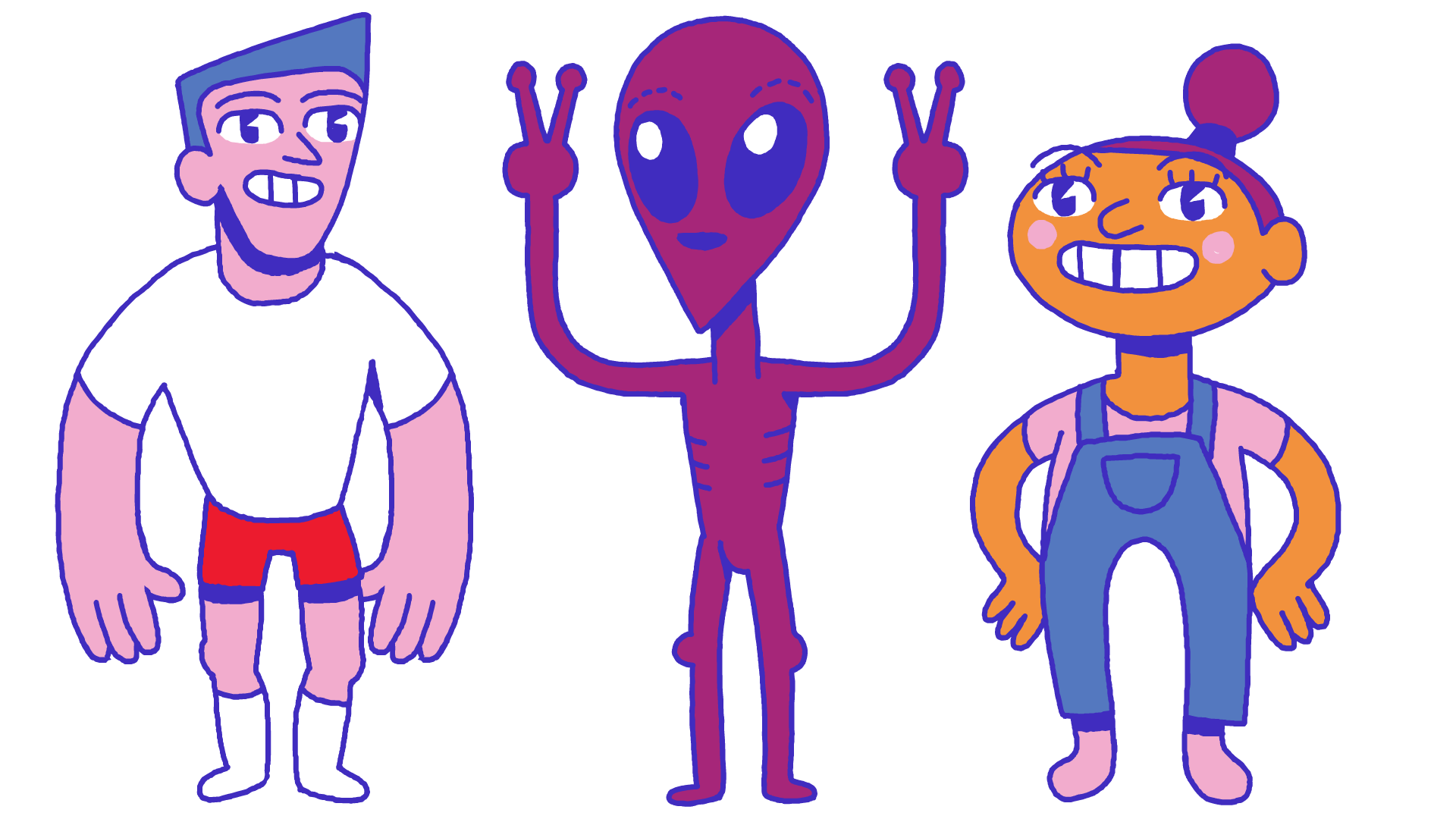 Trampoline_Characters